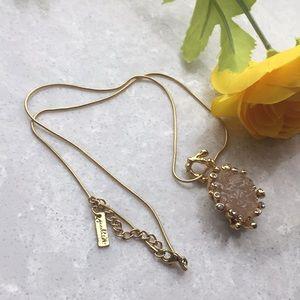 Jewelmint faux druzy necklace